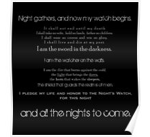 The Night's Watch Vows. Poster