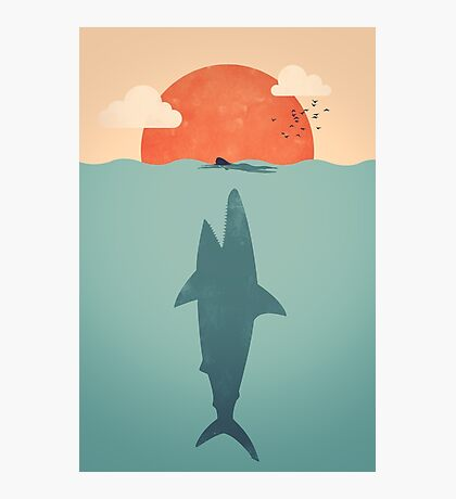 Shark Attack Photographic Print