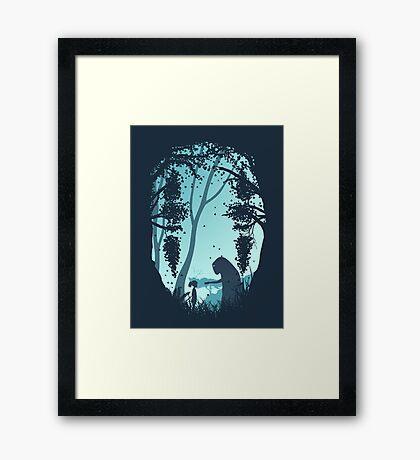 Lonely Spirit Framed Print
