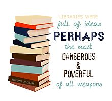 Libraries were full of Ideas by onlybylaura