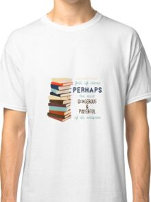 Libraries were full of Ideas Classic T-Shirt