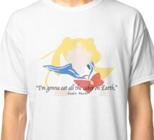 Sailor Moon Cakes Quote Classic T-Shirt