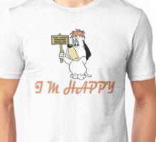 Droopy Dog - Cartoon - i'm Happy Unisex T-Shirt