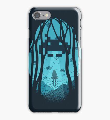 8 Bit Invasion iPhone Case/Skin