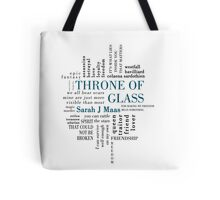 Throne of Glass - Typography Tote Bag