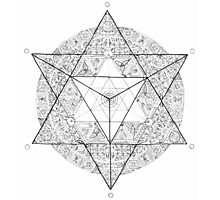 """Tetrahedron """"the old empire"""" Photographic Print"""