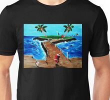 HOLE IN ONE ..AND I'M OFF....... Unisex T-Shirt