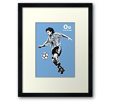 O is for Ortega Framed Print