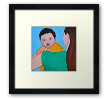 Discover the World (Baby and Mother) Framed Print