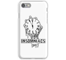 Insomniacs Melting Time iPhone Case/Skin