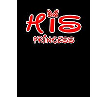 HIS PRINCESS Photographic Print