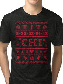Chicago Sweater Tri-blend T-Shirt