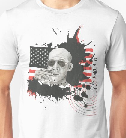 Homage To Hunter S Thompson Unisex T-Shirt
