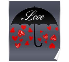 Love Cute Valentines Day Poster