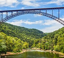 West Virginia's New River Gorge Bridge by Kenneth Keifer