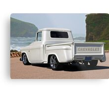 1956 Chevrolet Custom Pickup 3 Metal Print