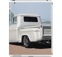 1956 Chevrolet Custom Pickup 3 iPad Case/Skin