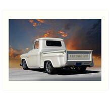 1956 Chevrolet Custom Pickup 2 Art Print