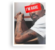 "Tupac ""Im Rare"" Supreme Metal Print"