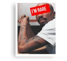 "Tupac ""Im Rare"" Supreme Canvas Print"