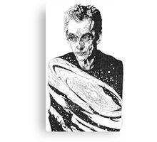 The Cosmic Doctor - Twelve  Canvas Print