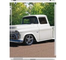 1956 Chevrolet Custom Pickup 1 iPad Case/Skin