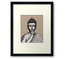 Shh ... do not disturb - Buddha - New Framed Print