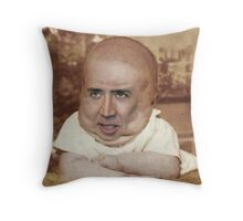 Nicolas Cage/Baby Throw Pillow