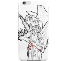 Ancient Winged Vampire Women with Chalice and Soul Reaver iPhone Case/Skin