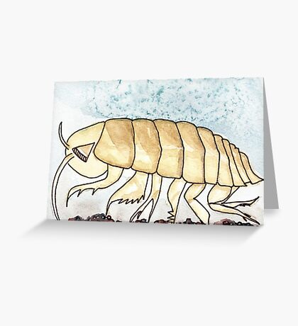 Isopod Starts with I Greeting Card