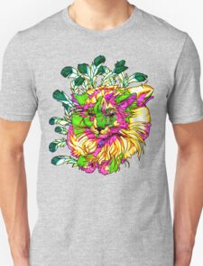 Stained Glass House Cat Trip T-Shirt