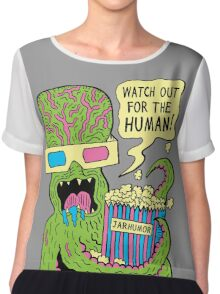 Alien Monster Movie Chiffon Top