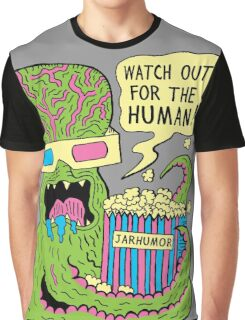 Alien Monster Movie Graphic T-Shirt
