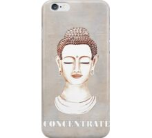 Buddha - Concentrate iPhone Case/Skin