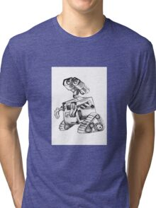 Wall-e...dreaming Tri-blend T-Shirt