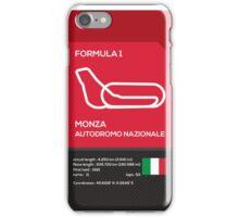Monza Autodromo nazionale iPhone Case/Skin