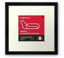 Monza Autodromo nazionale Framed Print