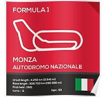Monza Autodromo nazionale Poster