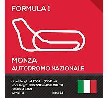 Monza Autodromo nazionale Photographic Print
