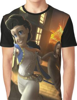 Julie d'Aubigny - Rejected Princesses Graphic T-Shirt