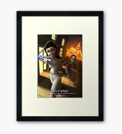 Julie d'Aubigny - Rejected Princesses Framed Print