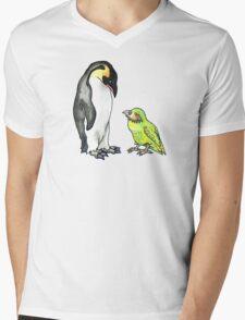 flightless friends Mens V-Neck T-Shirt