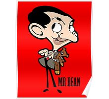 Mr Bean - Cartoon Poster