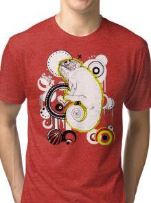 Chameleon Vector Dynasty Tri-blend T-Shirt