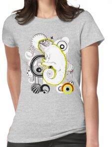 Chameleon Vector Dynasty Womens Fitted T-Shirt