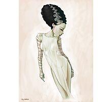 Bride of Frankenstein Photographic Print
