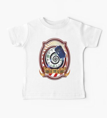 The Twelfth Doctor - Lords Of Time And Space Baby Tee