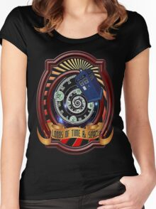The Twelfth Doctor - Lords Of Time And Space Women's Fitted Scoop T-Shirt