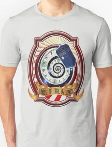 The Twelfth Doctor - Lords Of Time And Space Unisex T-Shirt