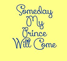Snow White Someday My Prince Will Come by schermer